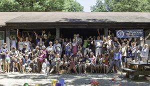 CFI MI Secular Summer Retreat Group Picture - Hands 2012