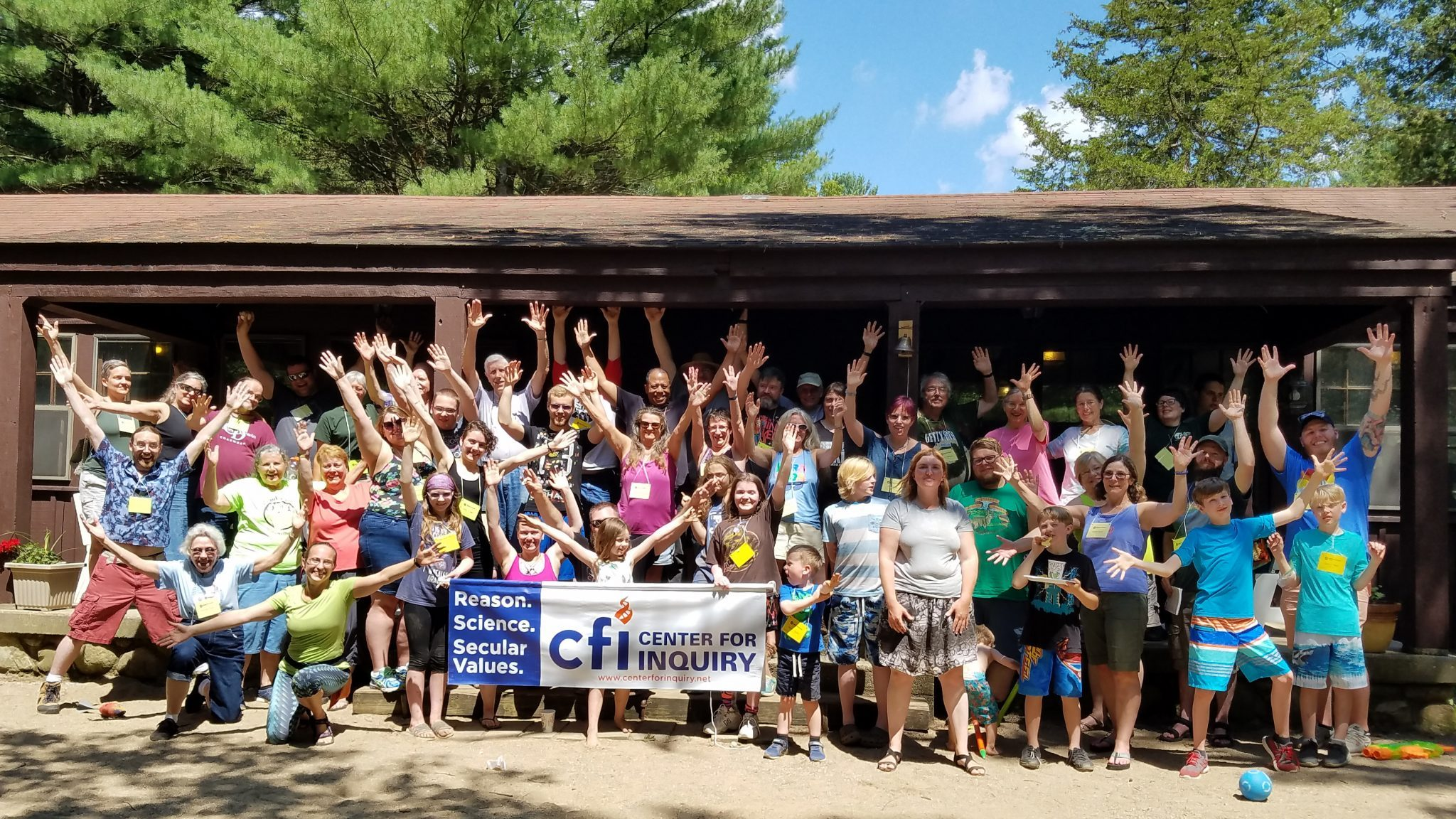 Secular Summer Retreat 2019 Group Picture